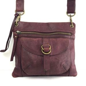 Fossil Vintage Leather Crossbody Bag